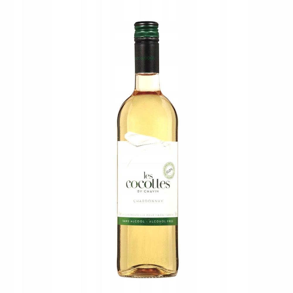 Безалкогольное вино 0% Chardonnay Les Cocottes