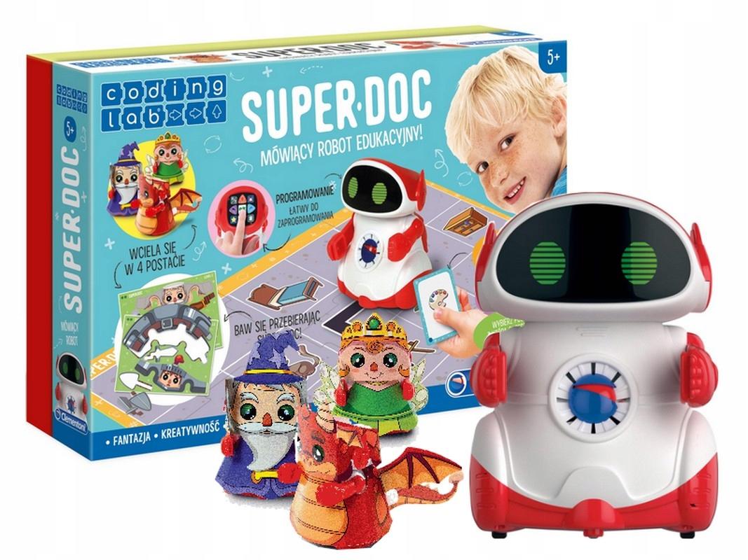 Hovoriaci vzdelávací robot CLEMENTONI SUPER DOC