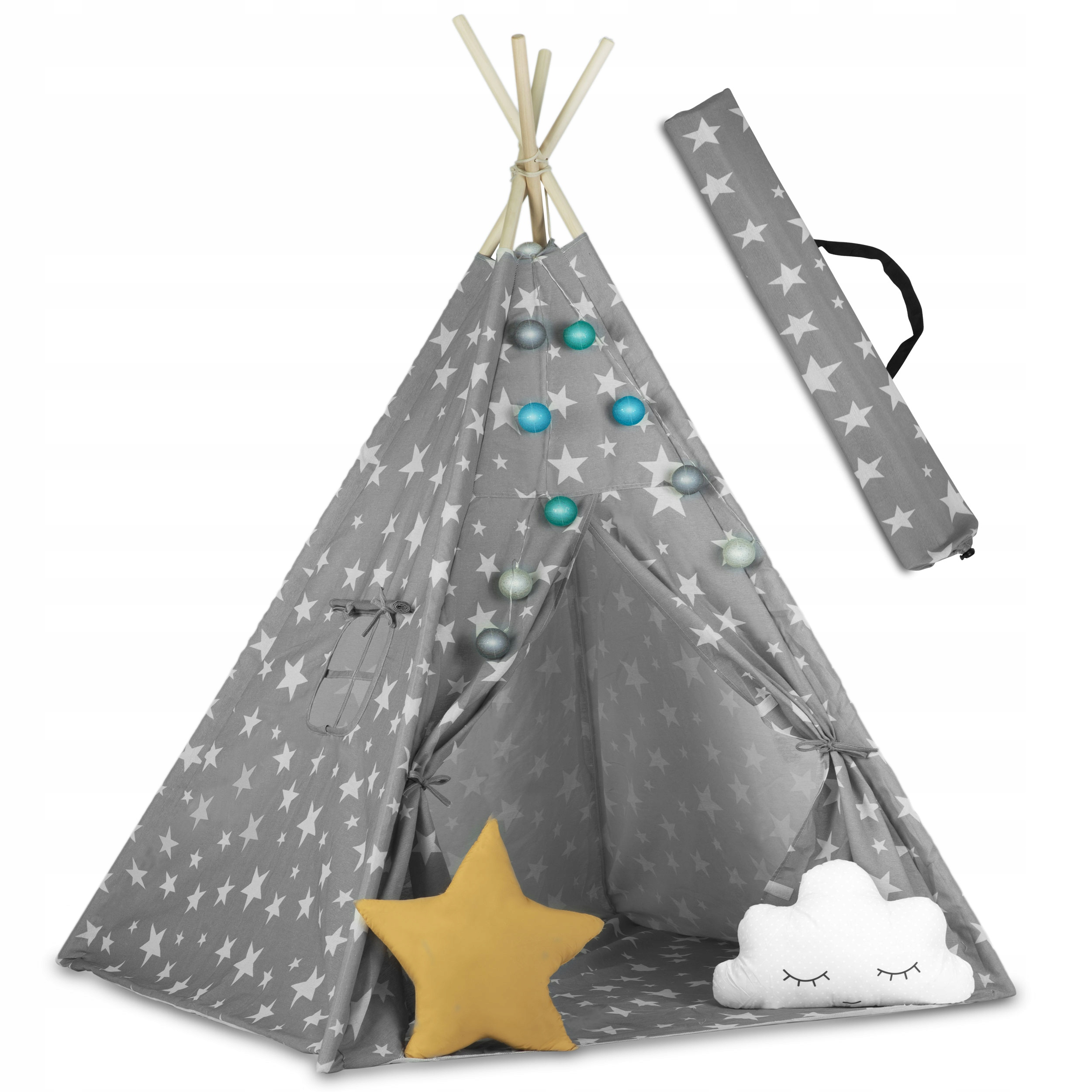 Палатка TIPI для детей TEEPEE Garland Pillows