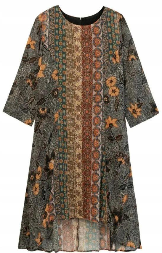 Dámske šaty Desigual Vest Pisa viacfarebné