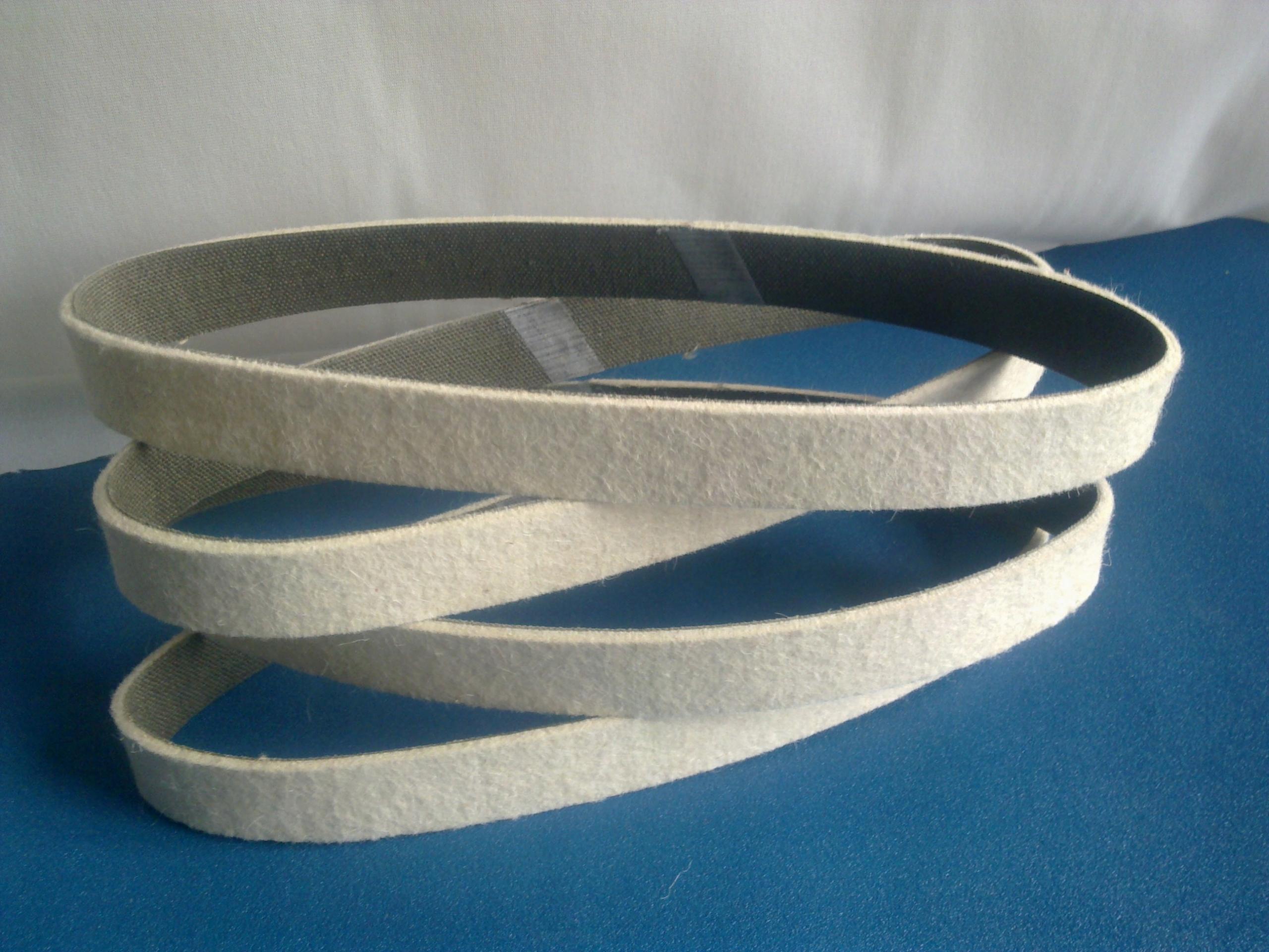 Polecitný / plstený pás 50 x 686 / hrúbka 3 mm