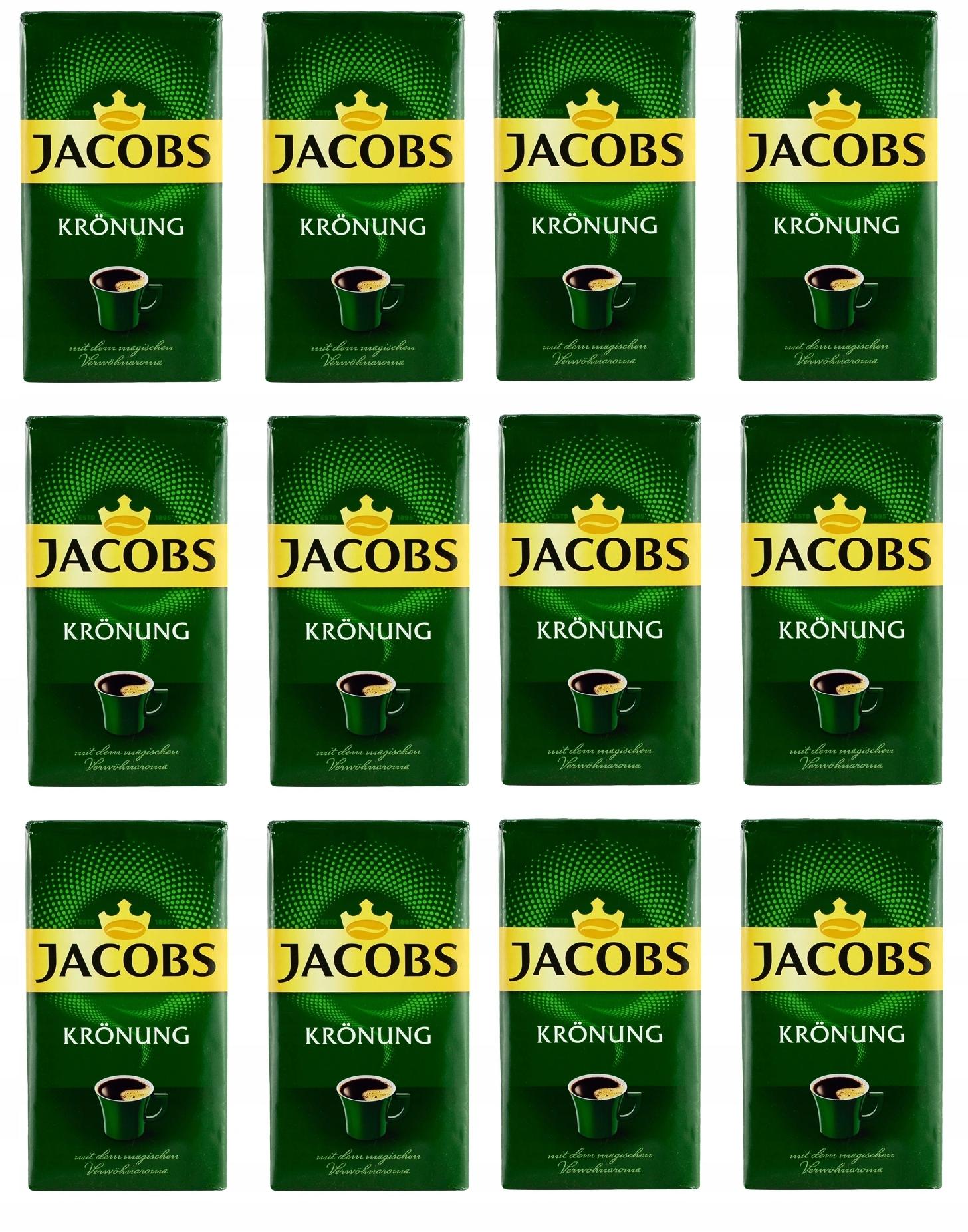 Mletá káva JACOBS KRONUNG 500 g Import DE x 12