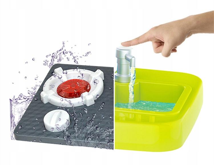 duza KUCHNIA lodówka piekarnik zlew Materiał Plastik