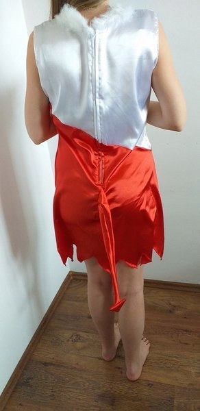 Купить Взрослый костюм Бело-красное платье дьявола на Otpravka - цены и фото - доставка из Польши и стран Европы в Украину.
