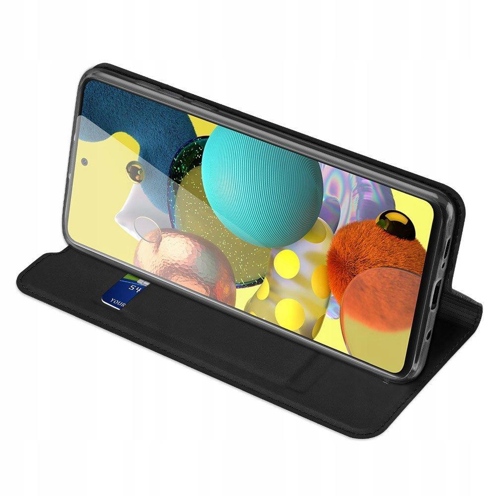 Etui DUX DUCIS + szkło do Samsung S20 FE Czarny Kolor czarny