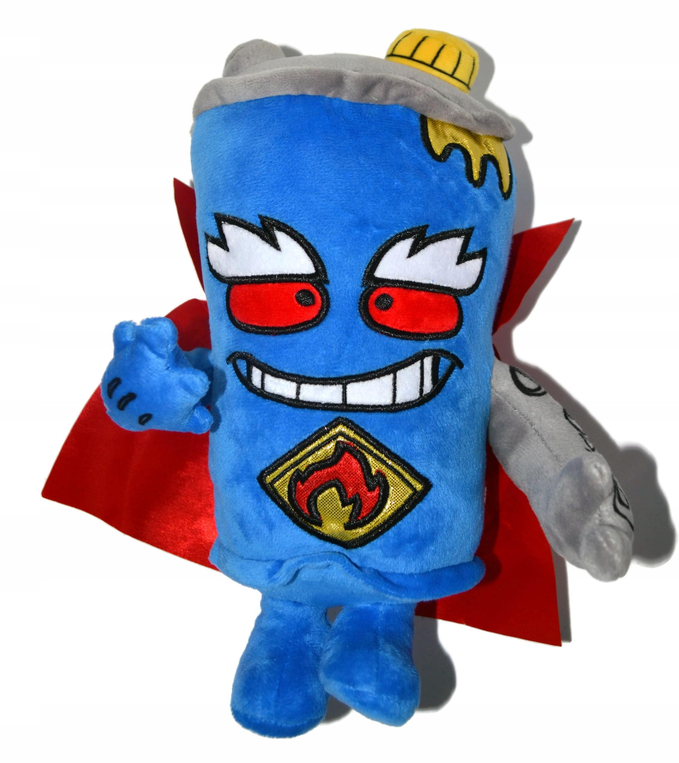 SUPER ZINGS Plyš maskot MR. KRÁĽ 27cm