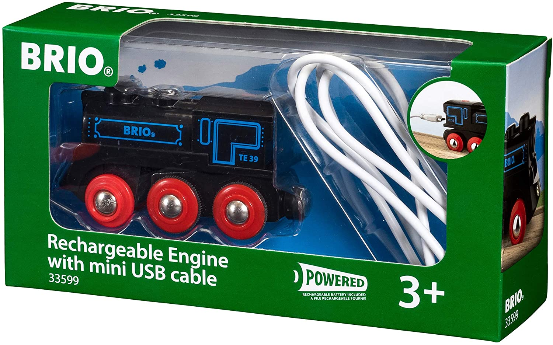 Mini USB lokomotíva Brio World Retro