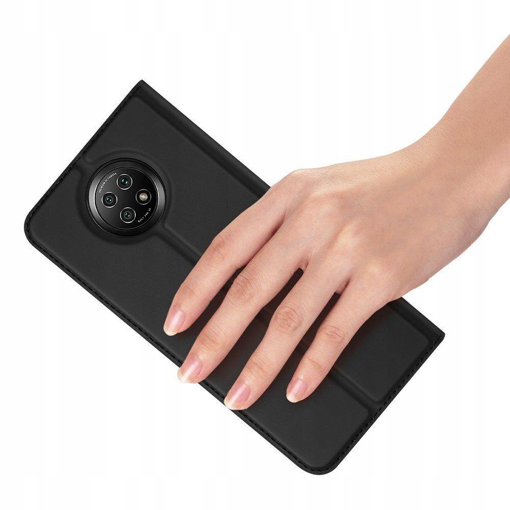 Etui DuxDucis + Szkło do Xiaomi Redmi Note 9T 5G Kolor czarny