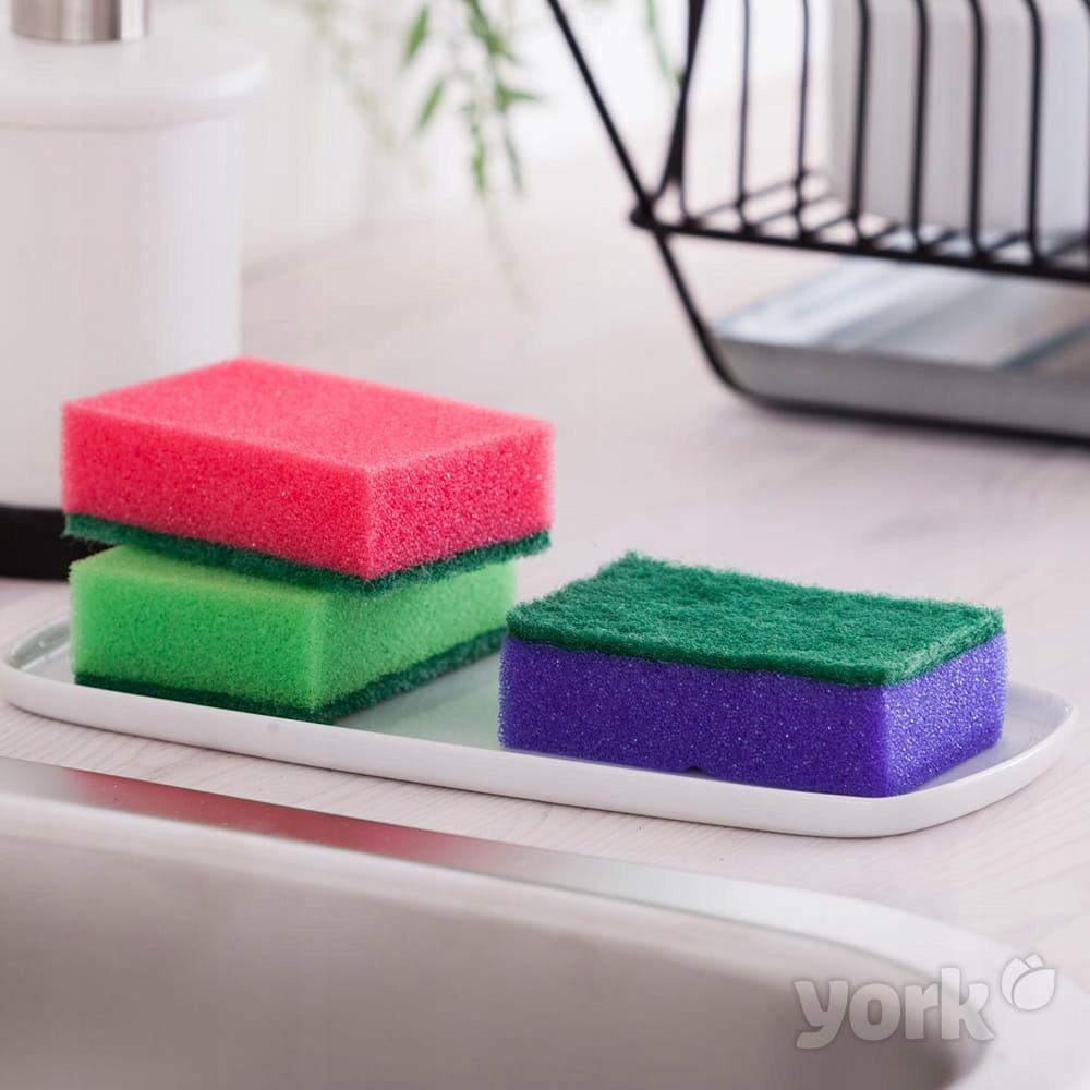 ZESTAW zmywaki gąbki do mycia naczyń duże 5szt Marka inna