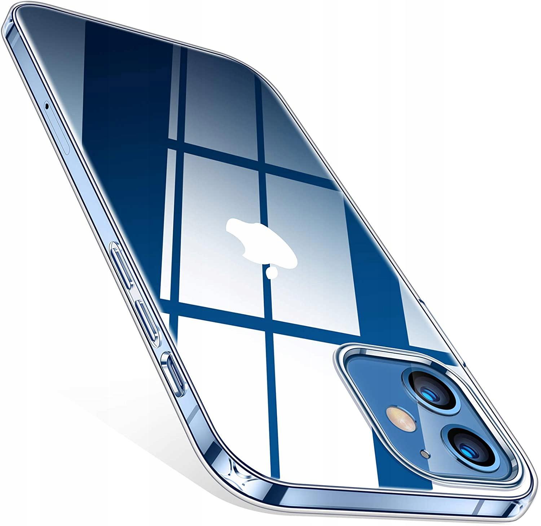 Etui do iPhone 12 / 12 Pro Clear Case + Szkło 9H Dedykowany model Apple iPhone 12 Pro