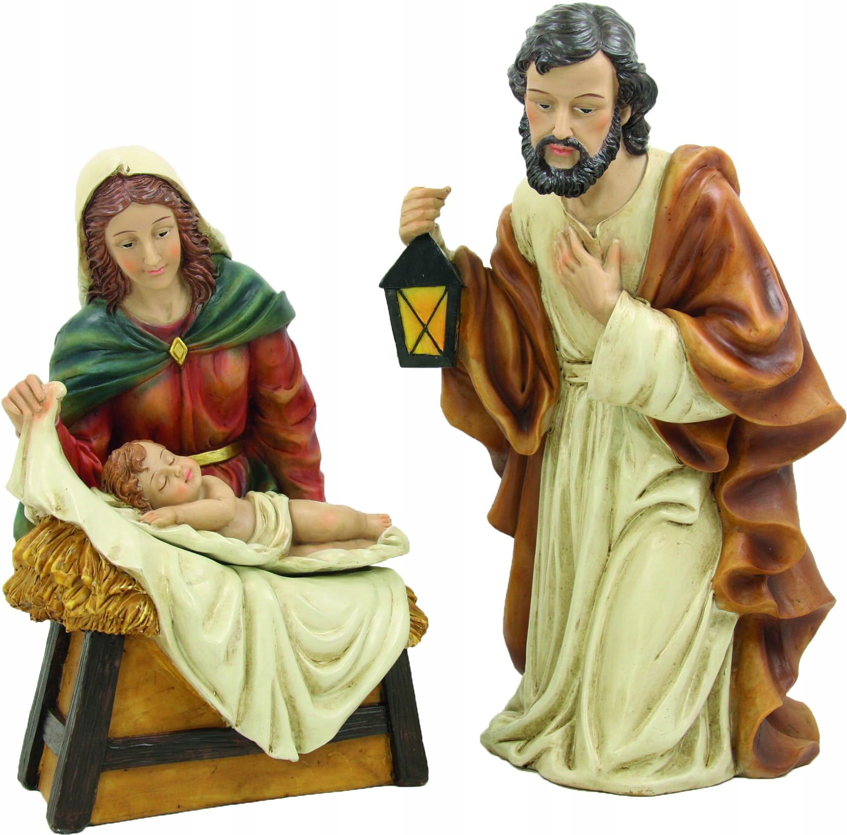 Sv. Rodina Bożon., Kľačiaci - postavy vysoké 15 cm