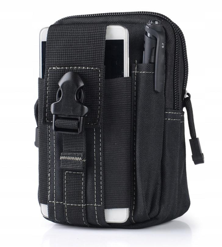 Тактическая набедренная сумка в стиле милитари MOLLE