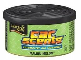 CALIFORNIA CAR SCENTS ZAPACH MALIBU - MELON