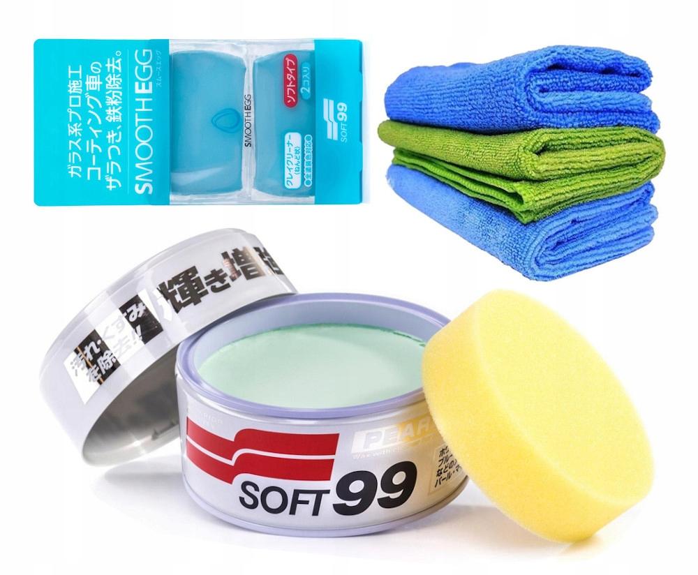 Soft99 Wosk do lakierów perłowych i metalicznych