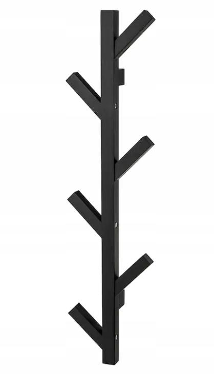 IKEA TJUSIG oblečenie Stojan na STENU montáž drevených
