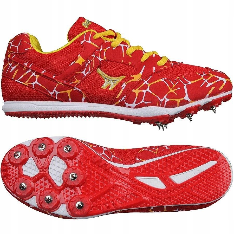 Обувь для легкой атлетики шипы S 599 MD RED размер 44