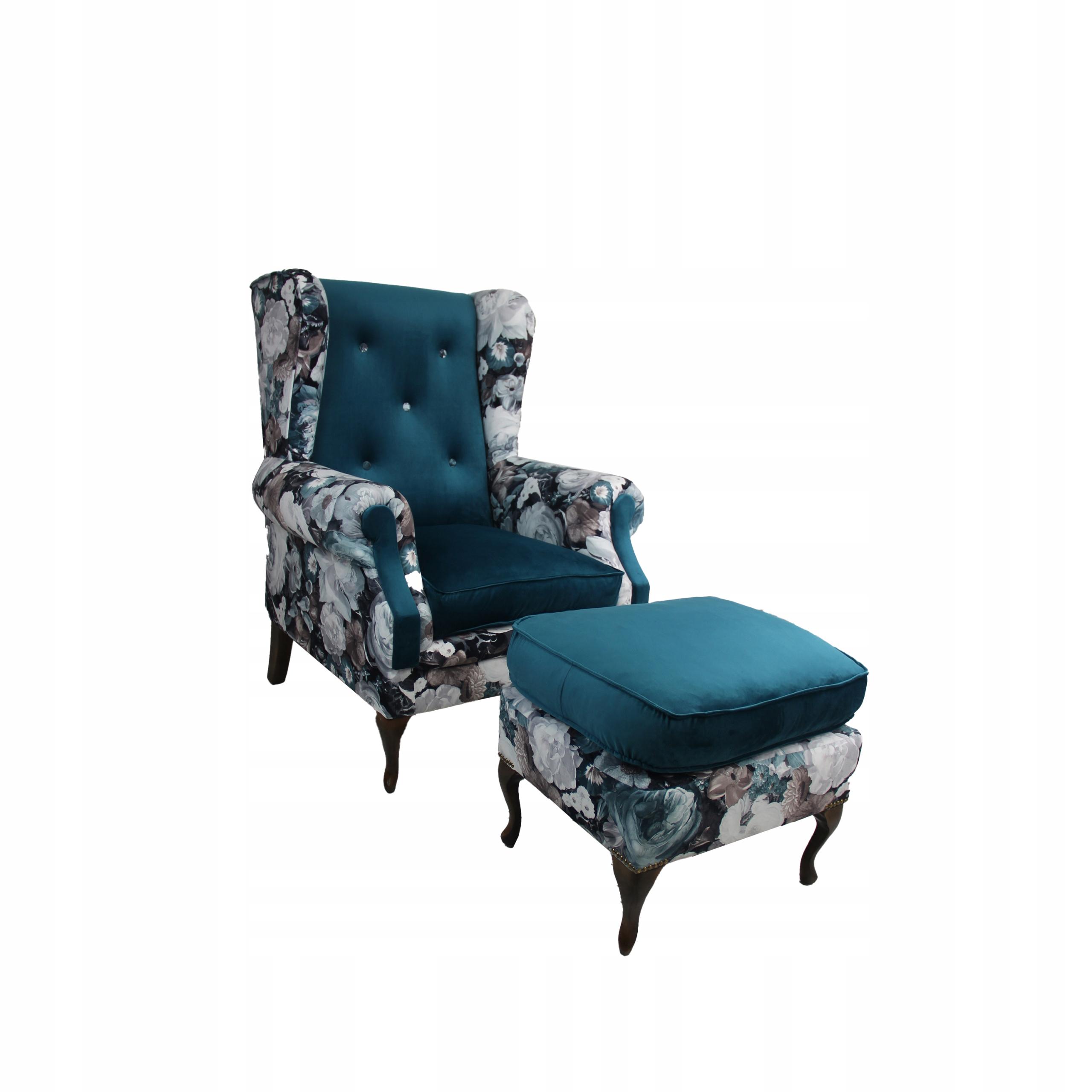 Кресло Uszak с подставкой для ног - Красиво и удобно!