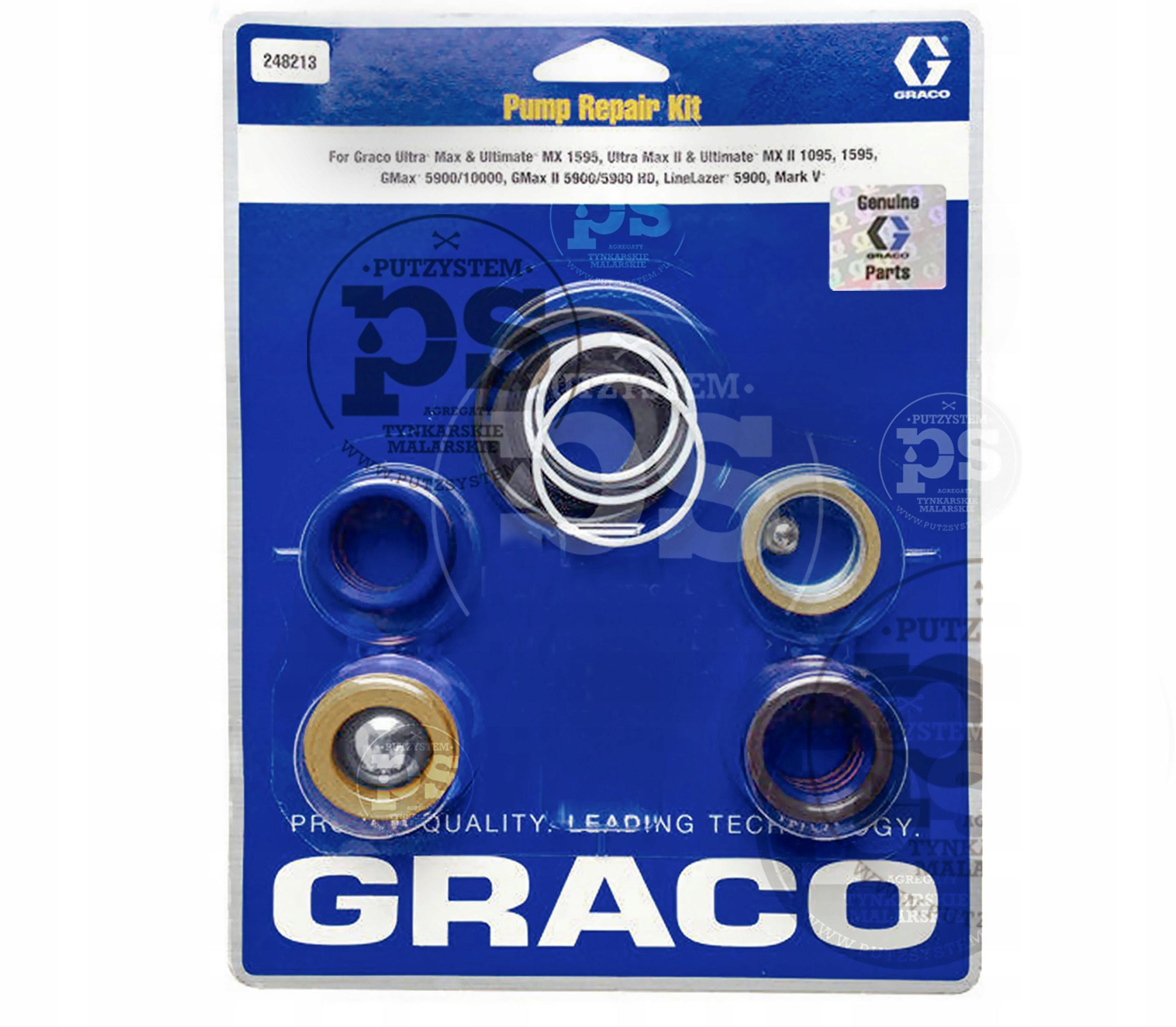 Ochranná oprava Kit. Značkový agregát GRACO ULTRA