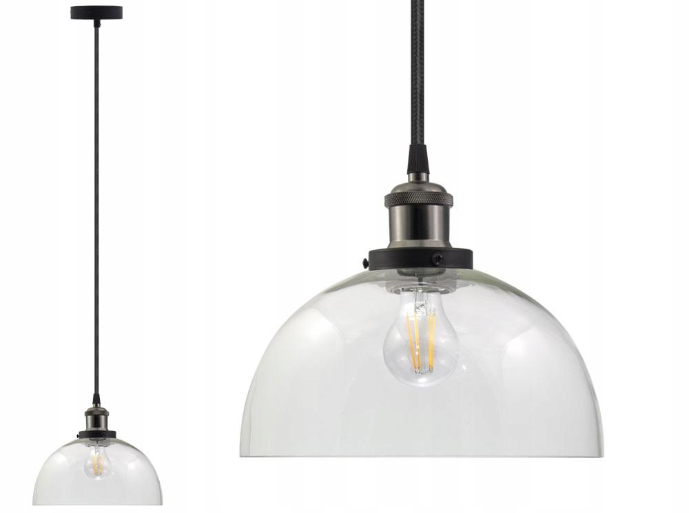 LAMPA SUFITOWA SZKLANA VASO UX ŻYRADNOL LED LOFT B Liczba punktów światła 1