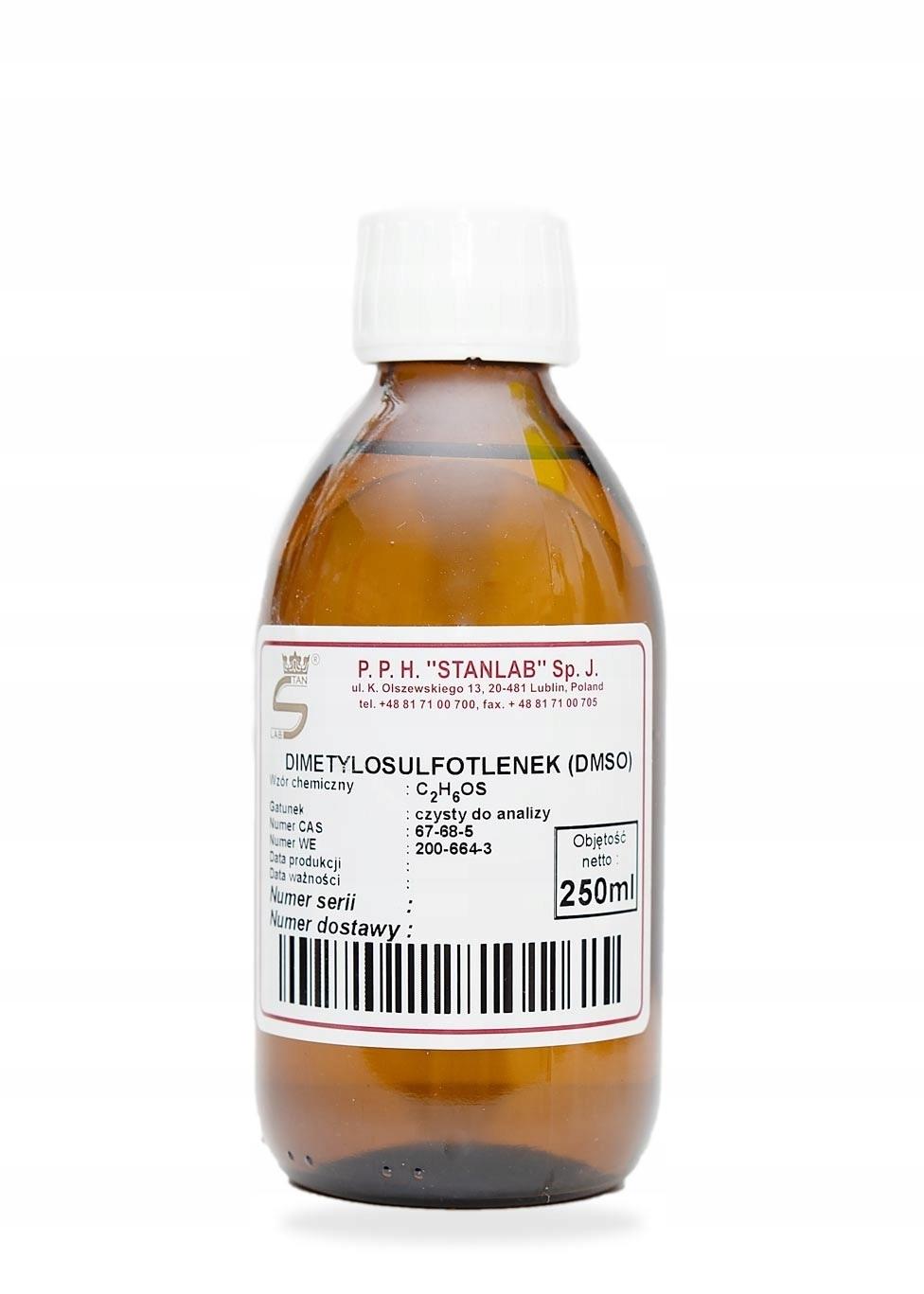 DMSO Dimetylosulfotlenek Stanlab CZDA 250ml