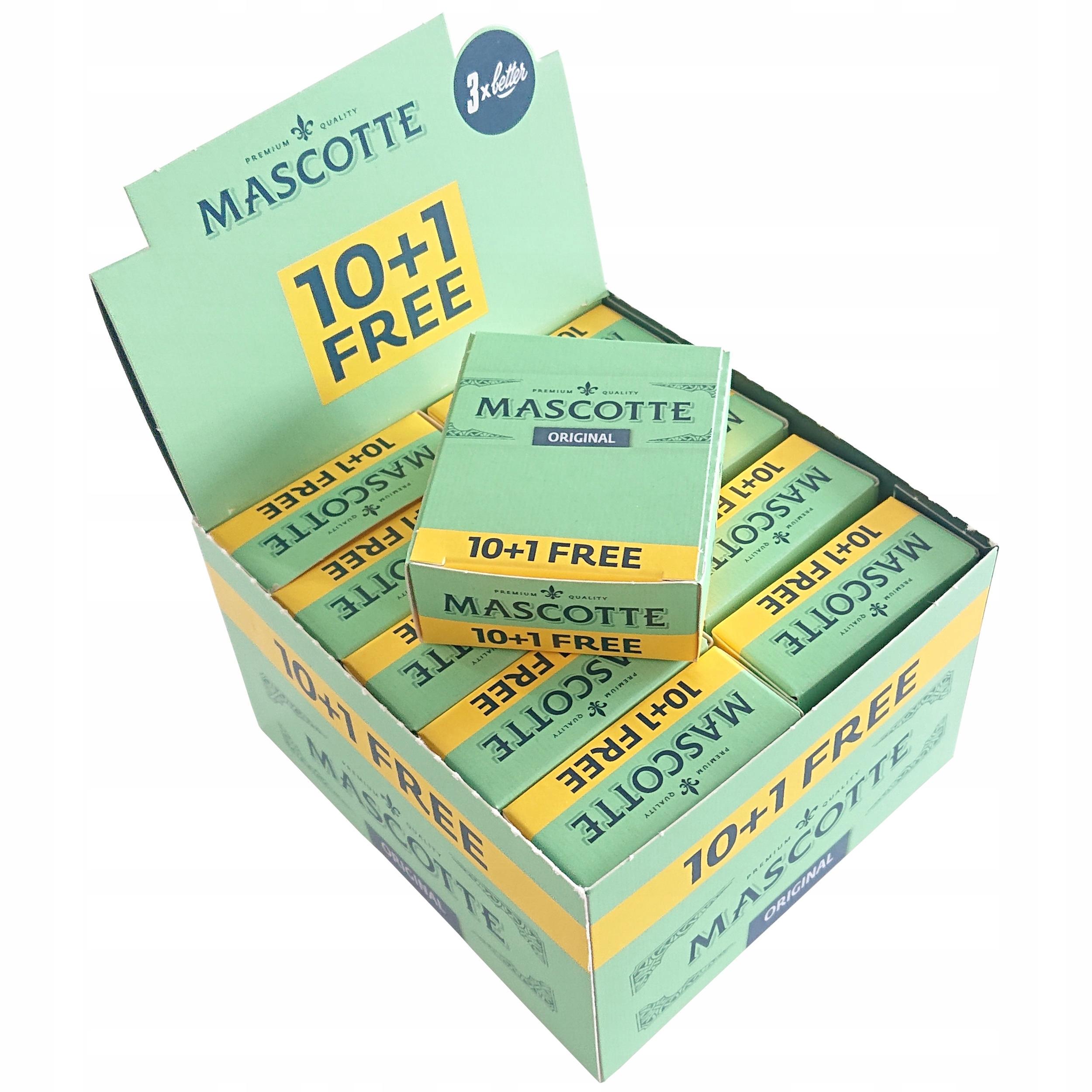 10 сигаретной бумаги Mascotte Original 10 1