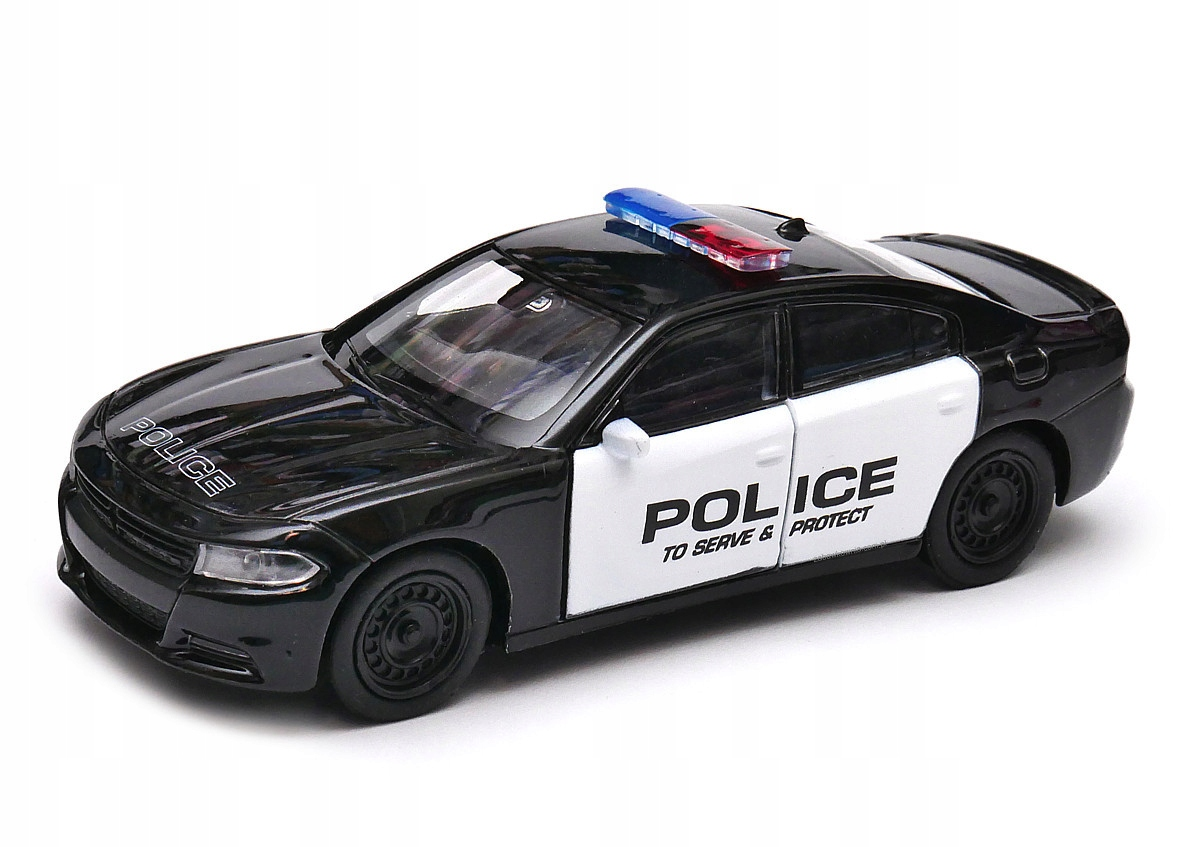 Dodge Charger Polícia 1: 34-39 Welly