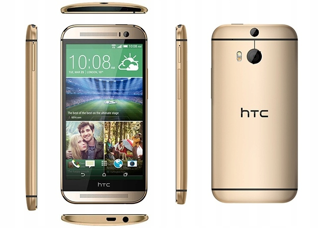 HTC One-685T M8 ЗЛОТЫЙ лентам  32GB