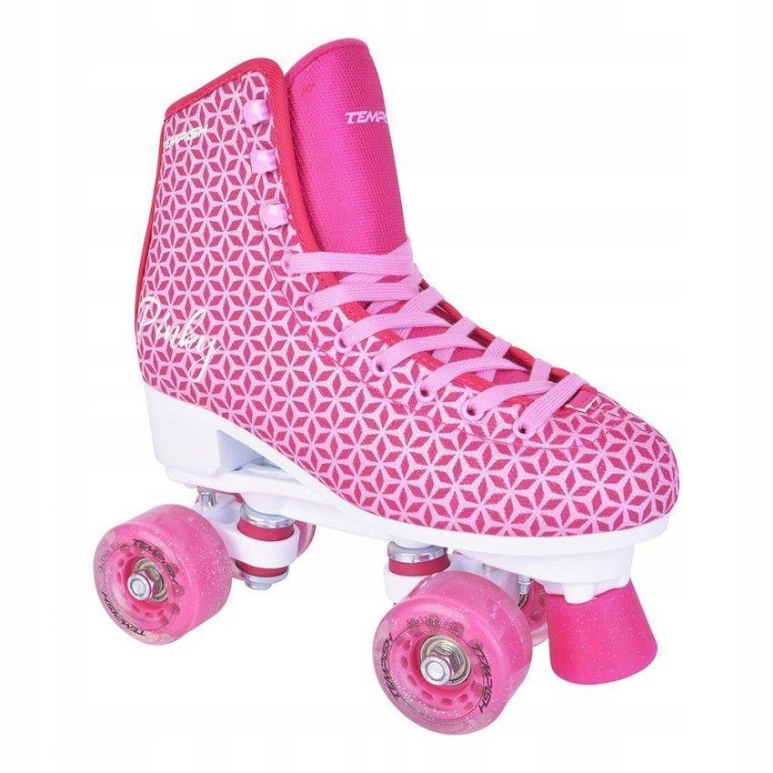Detské kolieskové korčule TEMPISH ružové začiatočníčky