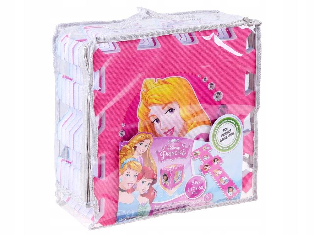 Puzzle piankowe Disney Princess mata 31x31 ZA3154 Wiek dziecka 2 lata +