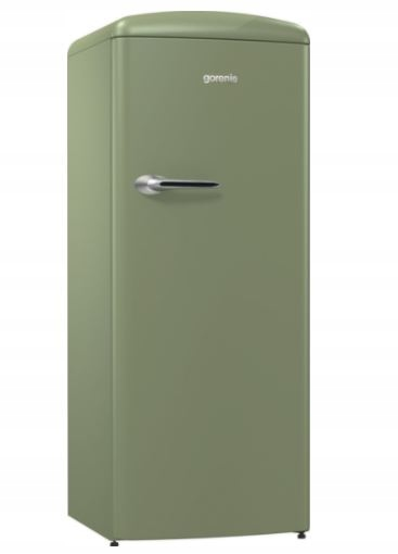 Chladnička Gorenje ORB153OL A +++ 154cm RETRO OLIVOVÁ