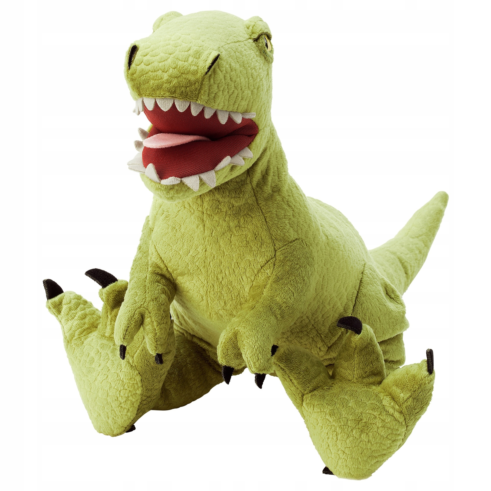 Plyšová hračka dinosaura IKEA JATTELIK Tyrannosaurus, 44 cm