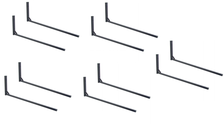 Wieszak ścienny BOX dachowy (dwie belki) - 5 kpl