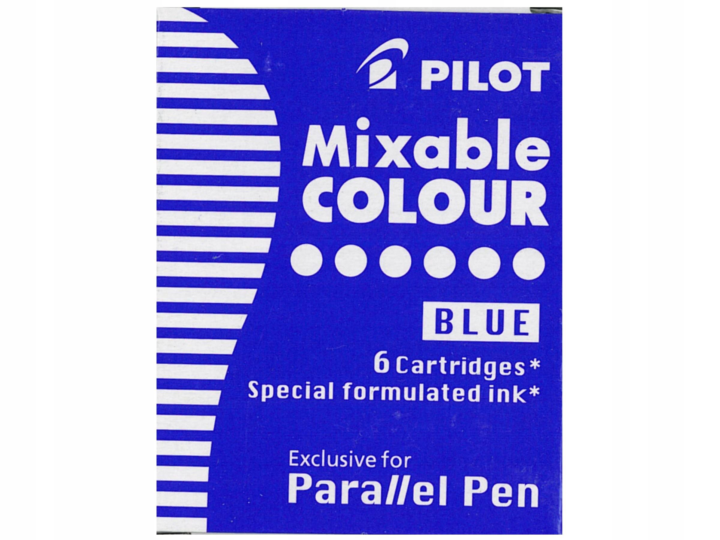 Naboje Do Piora Parallel Pen Pilot 6szt Niebieskie 8880387373 Allegro Pl