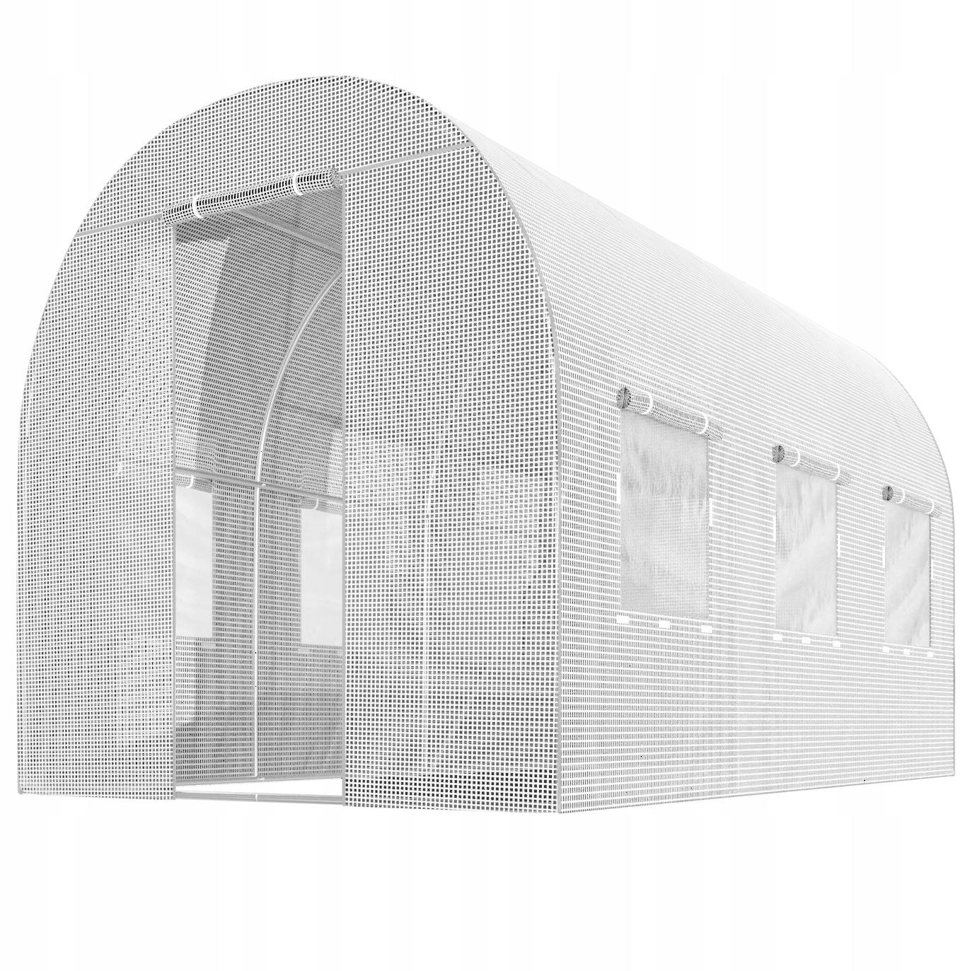 FOLIA NA TUNEL OGRODOWY 2x3,5m ZAMIENNA UV-4 7m2 Długość 350 cm