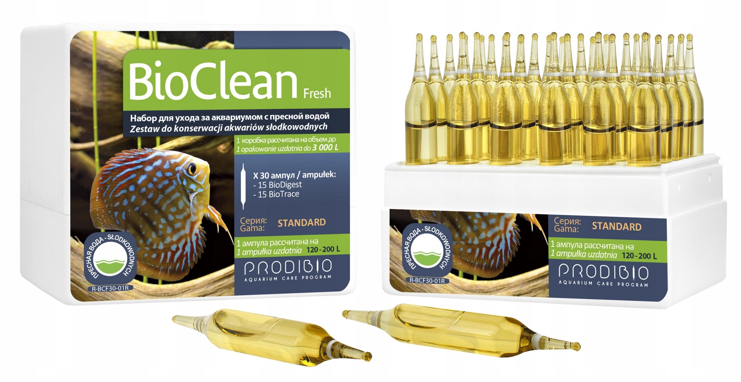 BioClean Čerstvé 30 fľaštičiek PRODIBIO