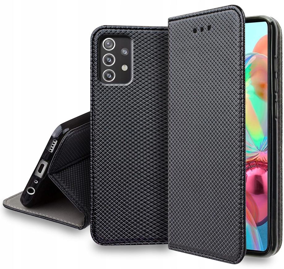 Etui do Samsung Galaxy A52 Smart Magnet + Szkło 9H