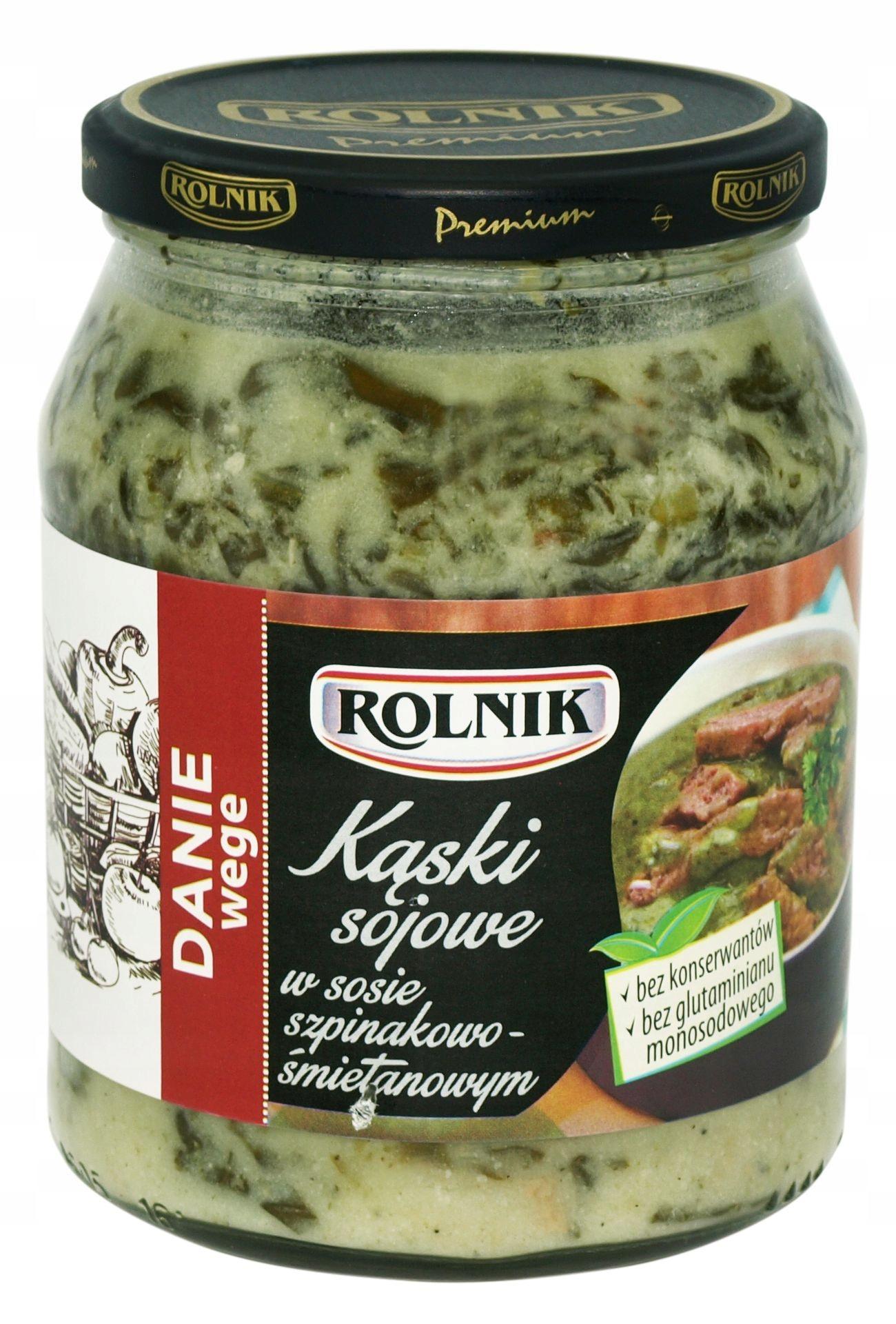 Ролник Веге Соевые кнедлики в соусе, вегетарианское блюдо 720 мл