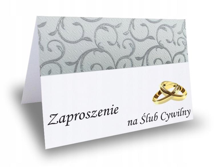 Купить Приглашение на гражданскую свадьбу LACE 2 на Otpravka - цены и фото - доставка из Польши и стран Европы в Украину.