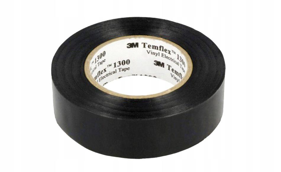 3M Taśma izolacyjna Temflex 1300 15mm x 10m czarna