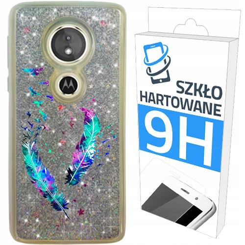 Etui Brokat+szkło na Motorola Moto G6 Play Obudowa