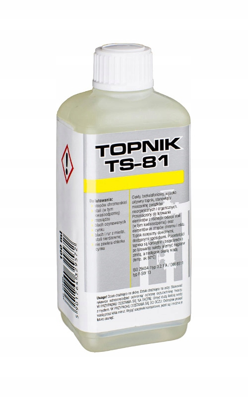 TOPNIK TS81 100ML DO STALI KWASOODPORNEJ