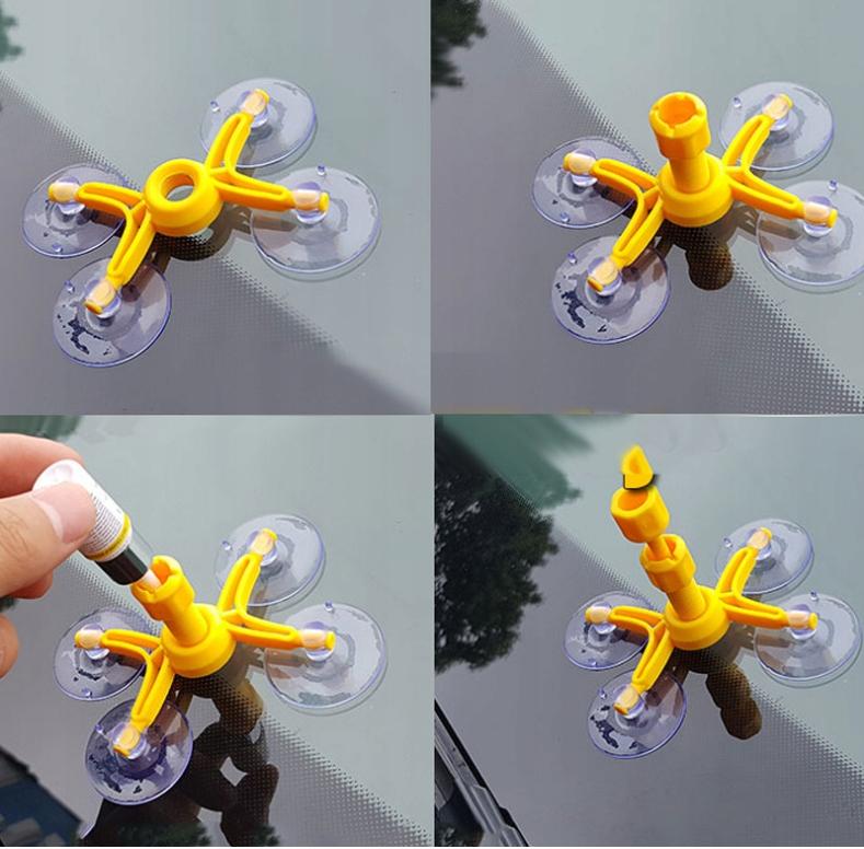 Комплект для ремонта лобового стекла автомобиля клей для стекла номер детали производителя MD0056