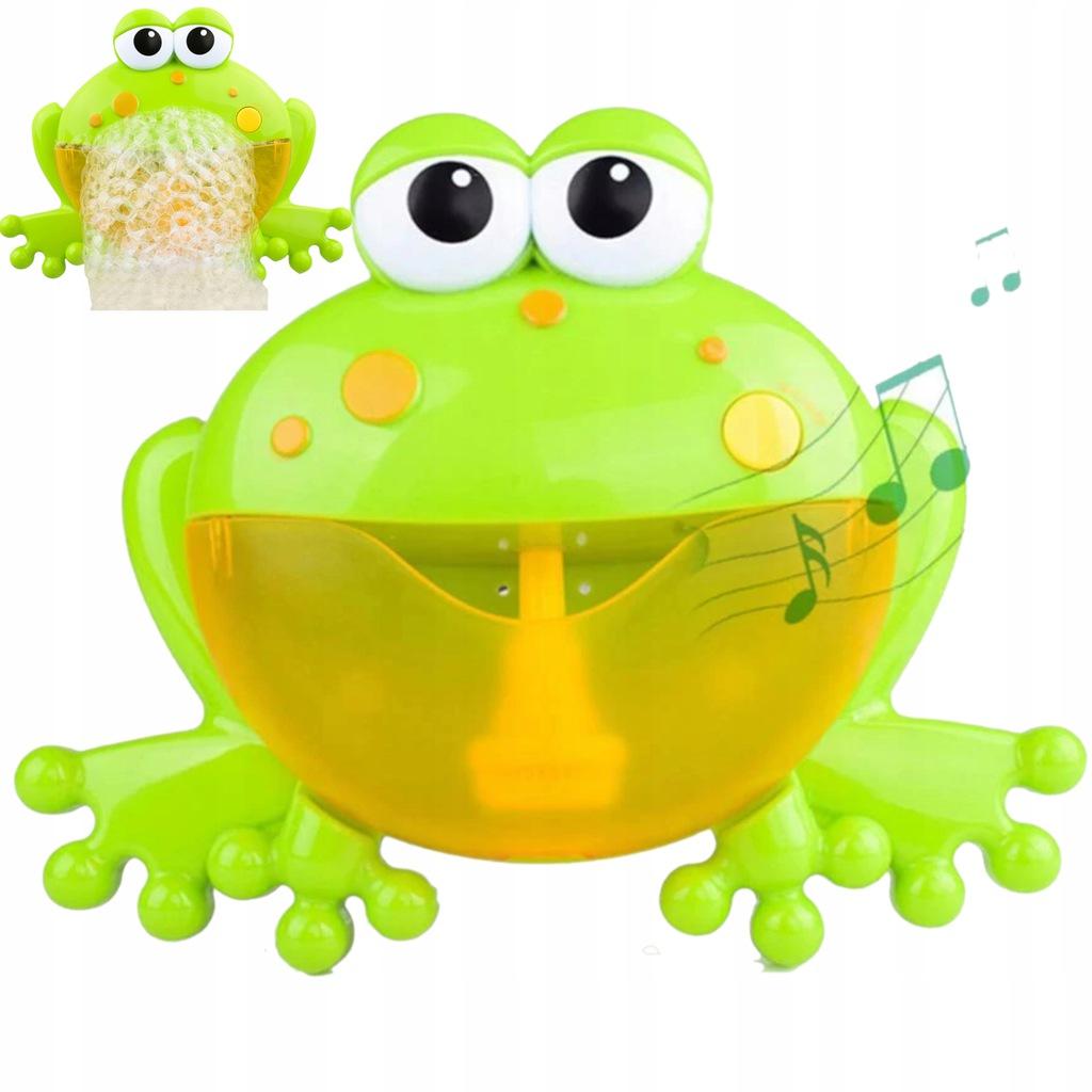 Żaba bąbelkowa do robienia piany żabka 1111-19
