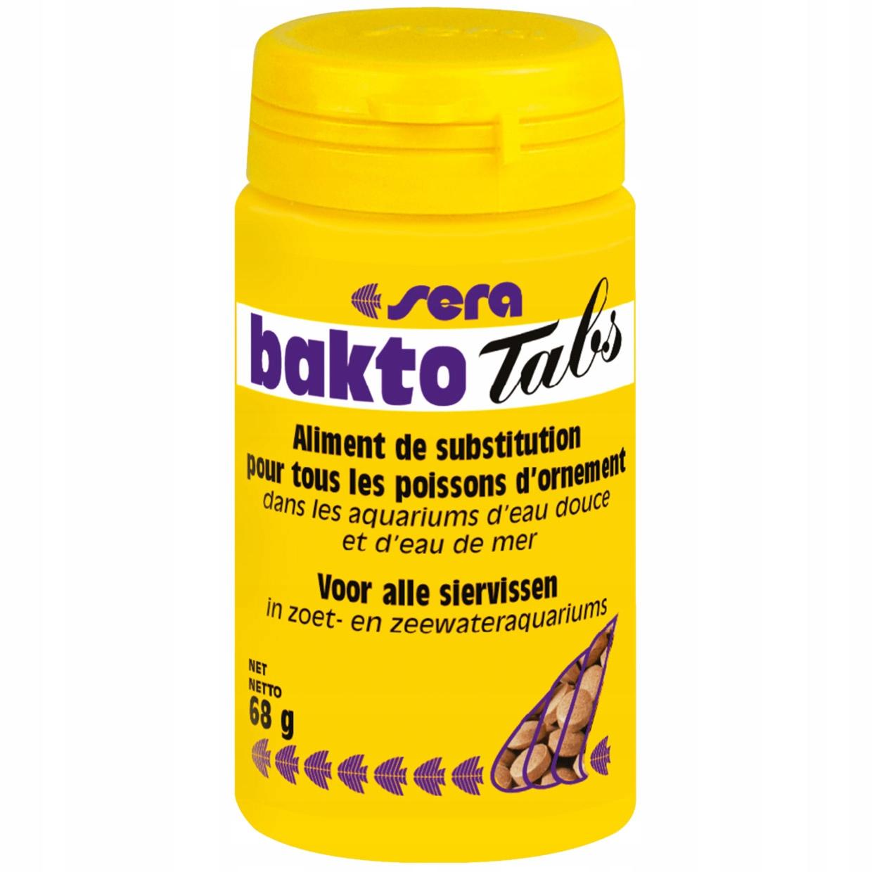 Sera Bakto Tabs, 275 табл. пища для больных рыб