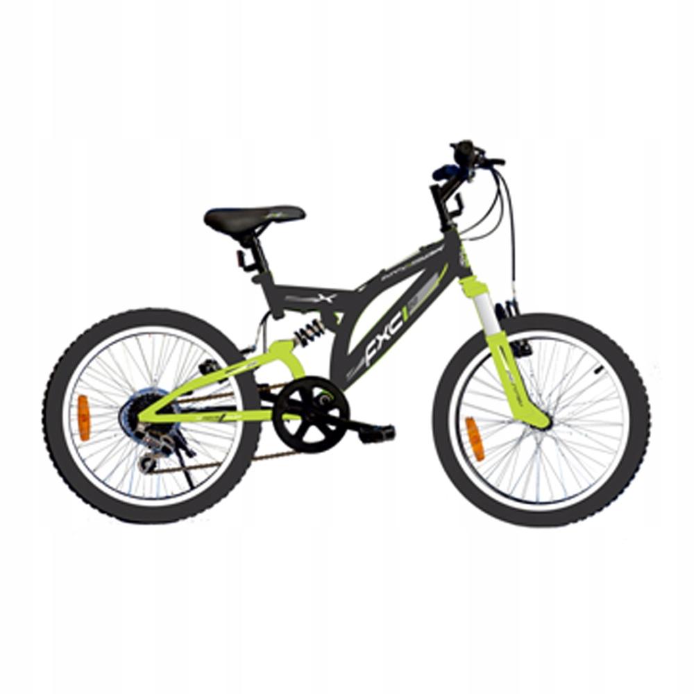 MTB MIDEX 20-дюймовый 6-ступенчатый горный велосипед Full Amor