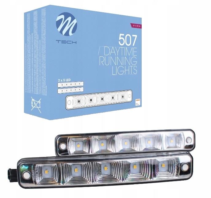 ДХО дневные ходовые огни OSRAM LED 19см 1000 люмен HP507