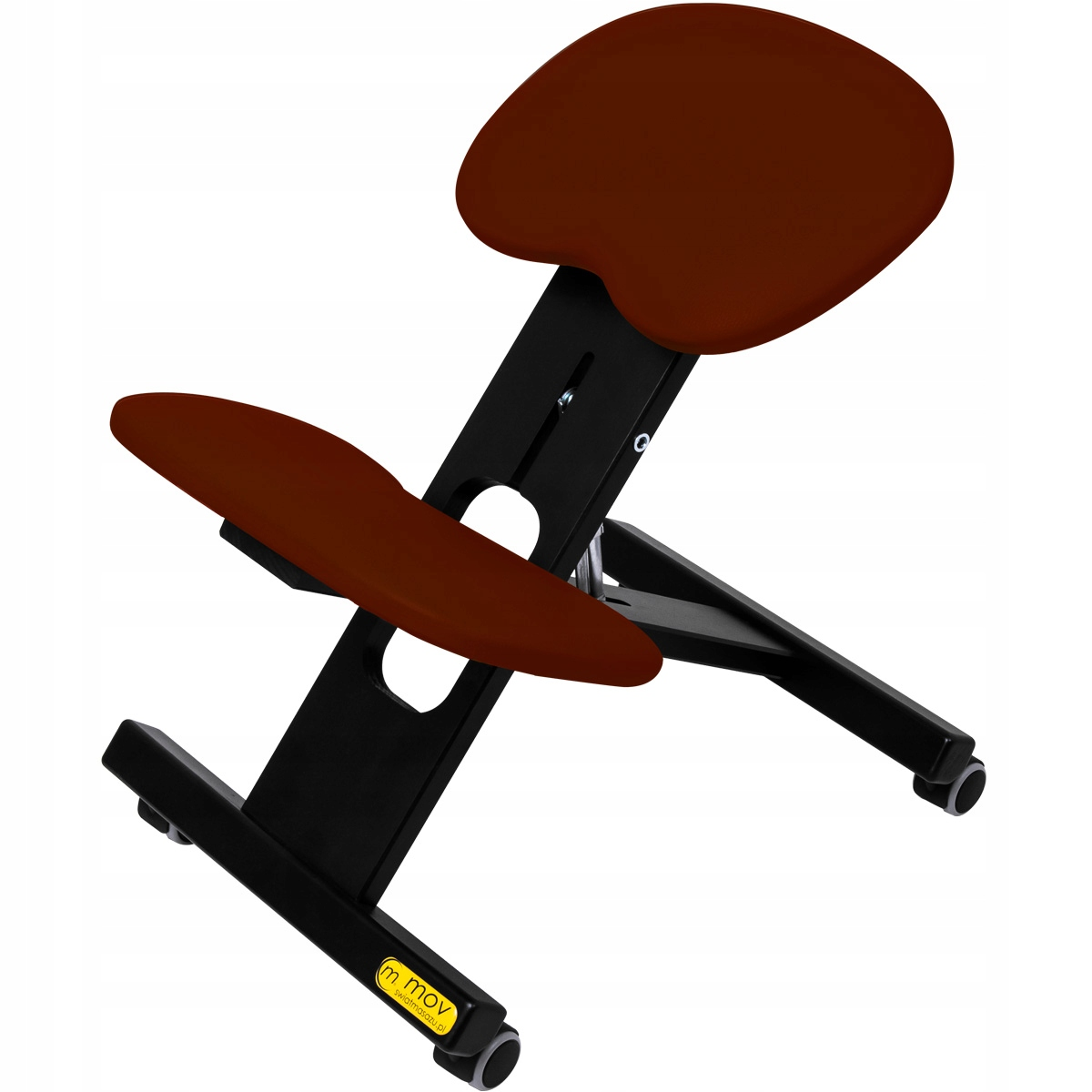 Klękosiad ERGO OFFICE Black ergonomické Stoličky
