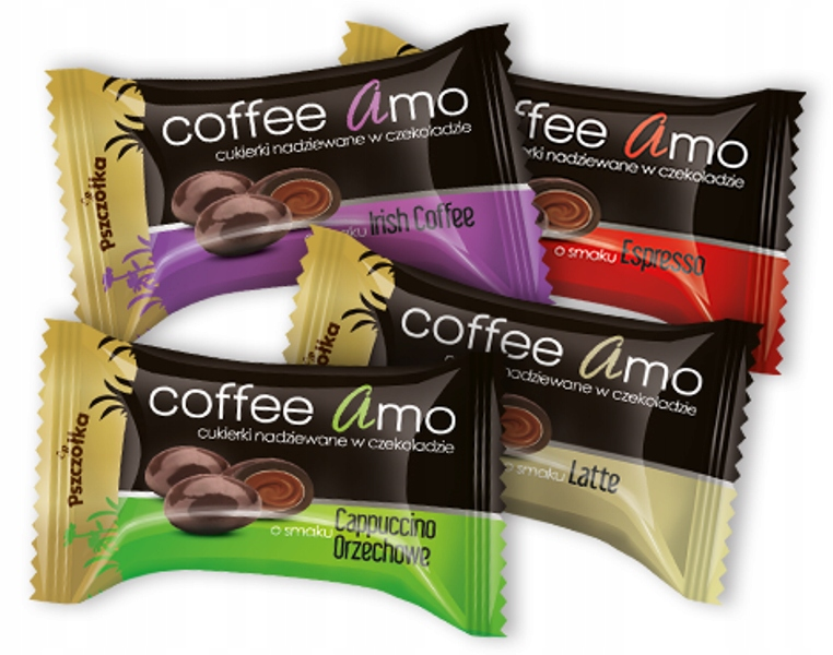 Cukierki Coffee Amo Pszczółka 1kg