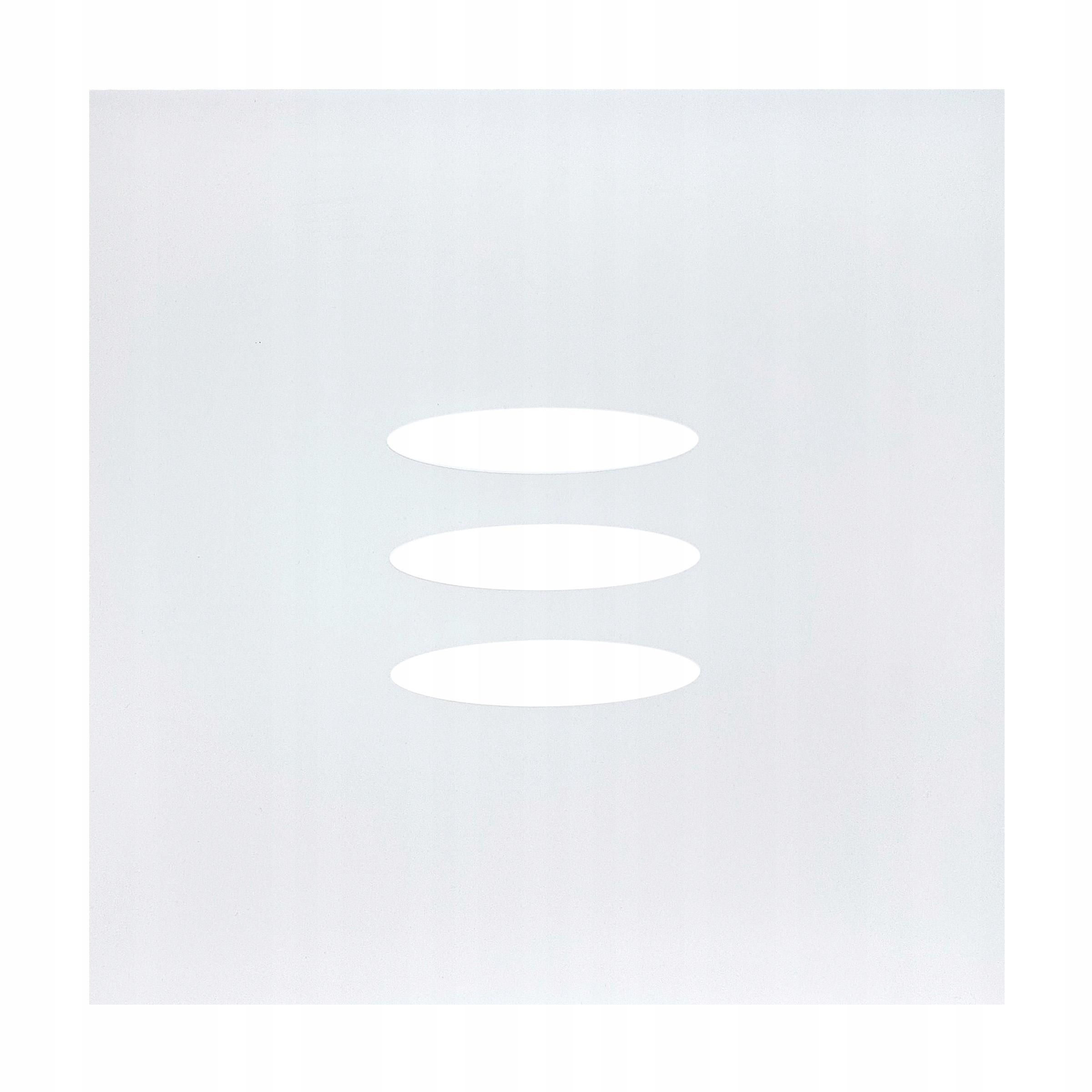 Odzrbové okno na sklenenom sklenenom okne Oval 4 ks
