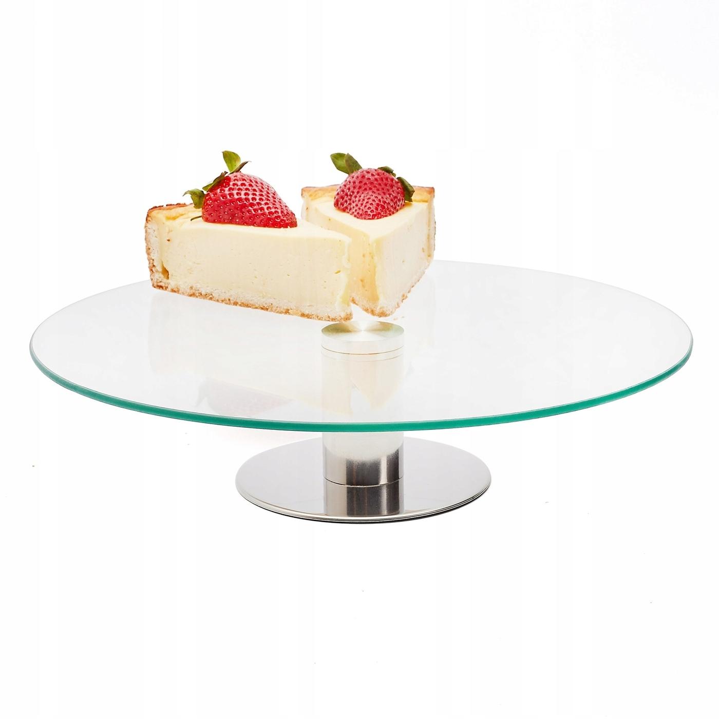 Тарелка стеклянная Tadar Omena 30 см круглая